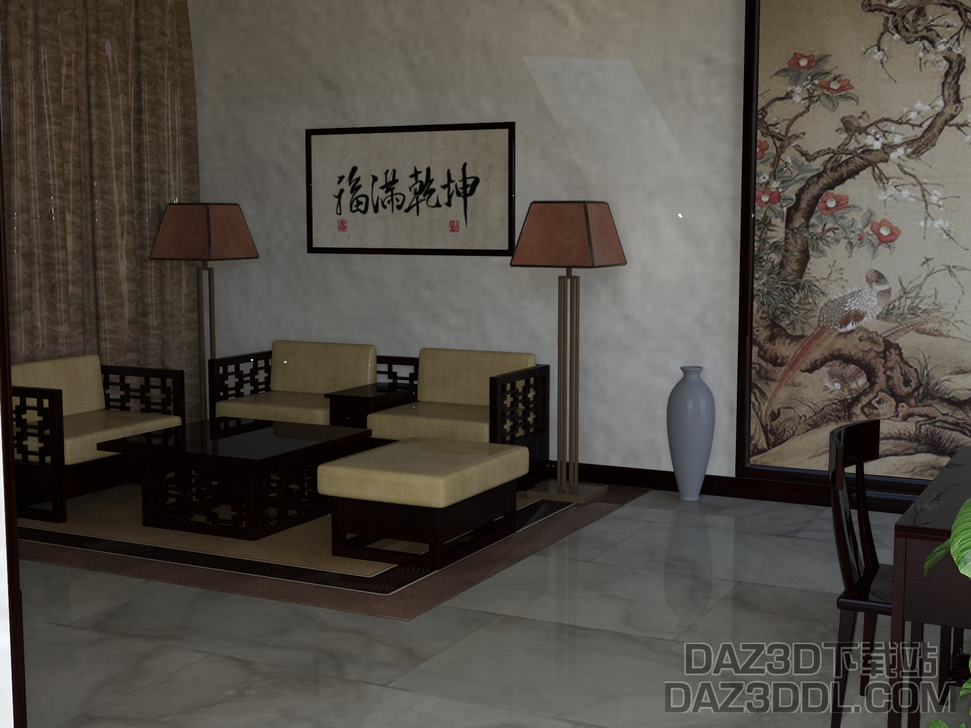 !Chinese Living Room OBJ.jpg