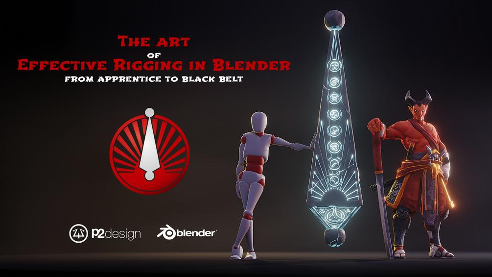 The Art Of Effective Rigging In Blender_DAZ3D下载站