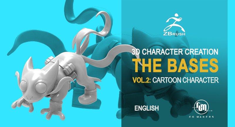 Pet Cartoon Modeling - Master 3D Character Creation Zbrush_DAZ3D下载站