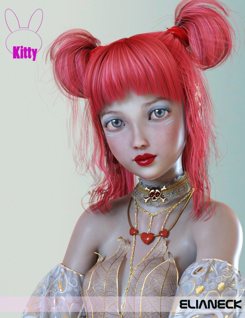 Kitty for Kanade 8_DAZ3D下载站