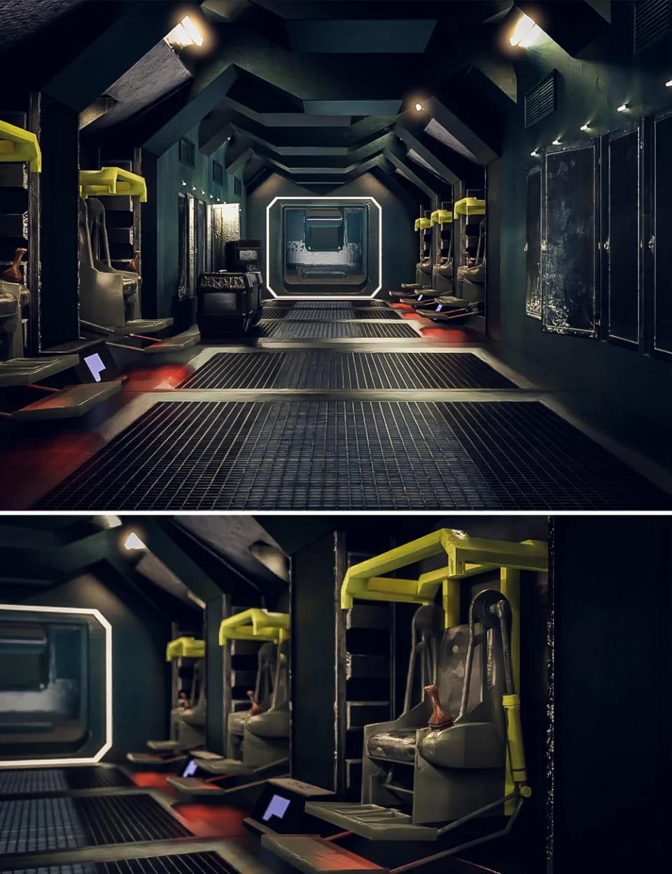 Discharge Sci-Fi Room_DAZ3D下载站