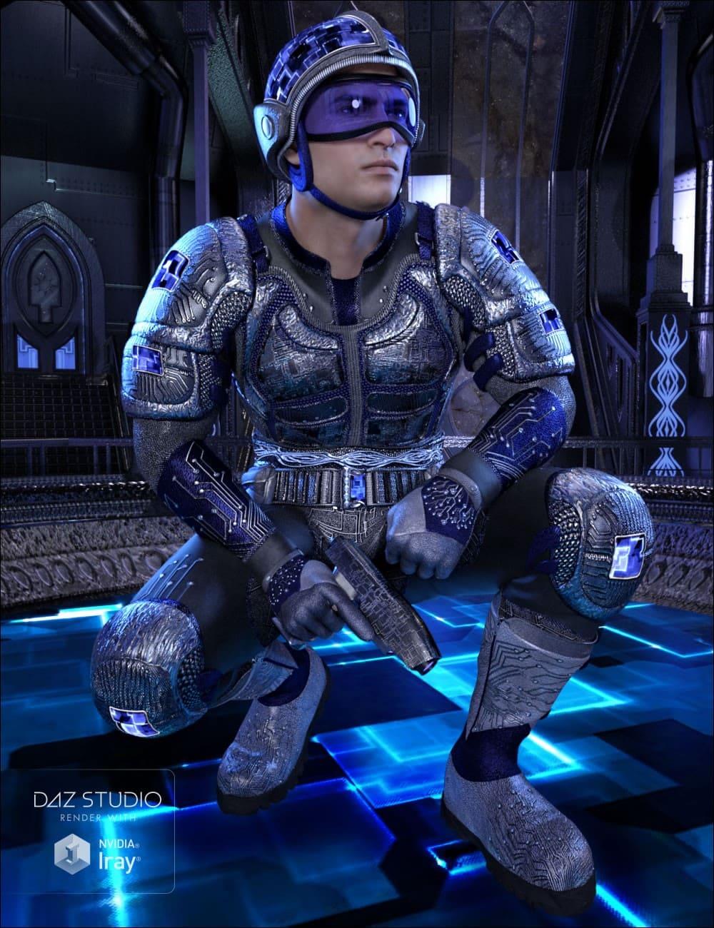 Future Fierce_DAZ3D下载站