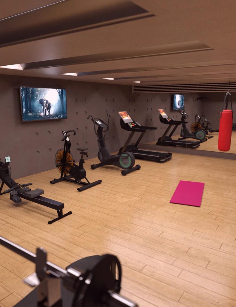 Home Gym_DAZ3D下载站