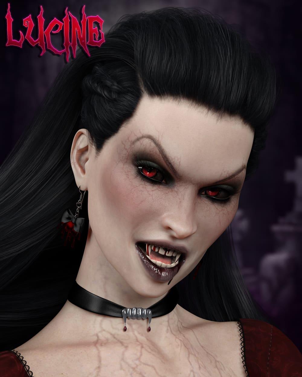 Lucine for Genesis 8 Female_DAZ3D下载站