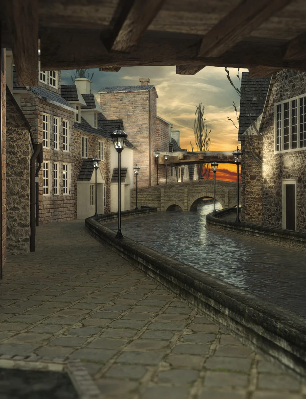 Old London Town_DAZ3D下载站