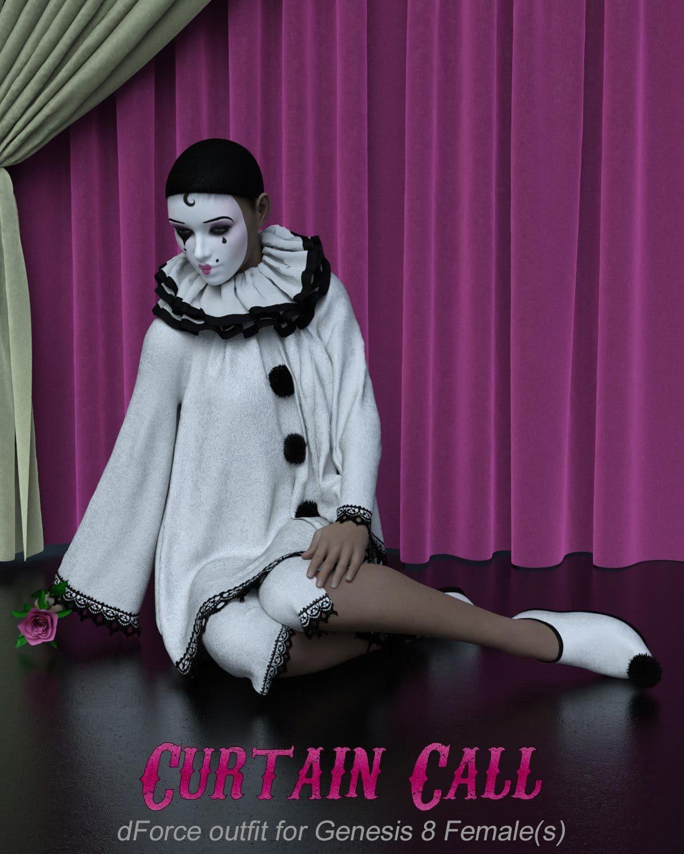 Curtain Call for Genesis 8 Females_DAZ3D下载站