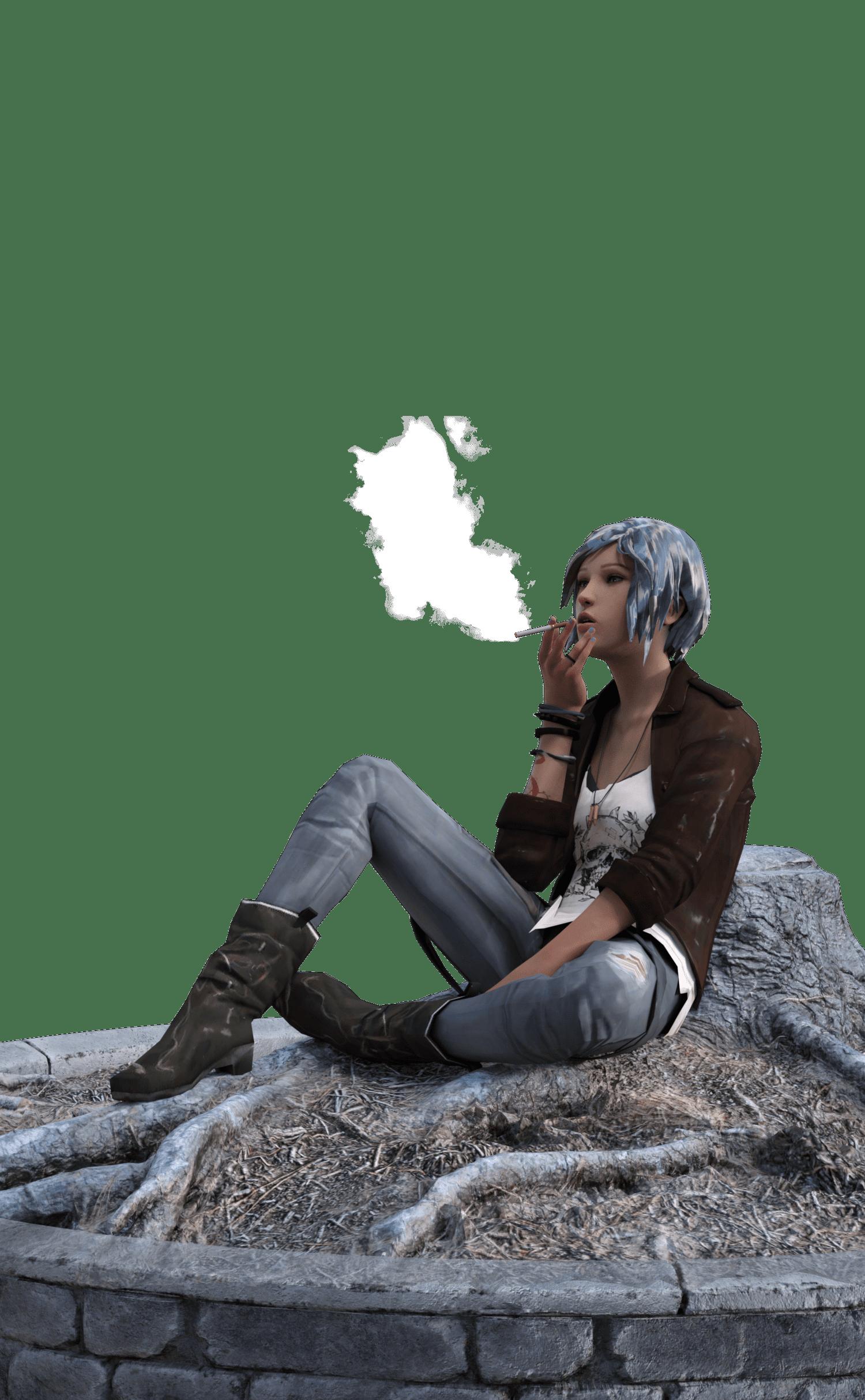 Life Is Strange Chloe Price in Daz G8F_DAZ3D下载站