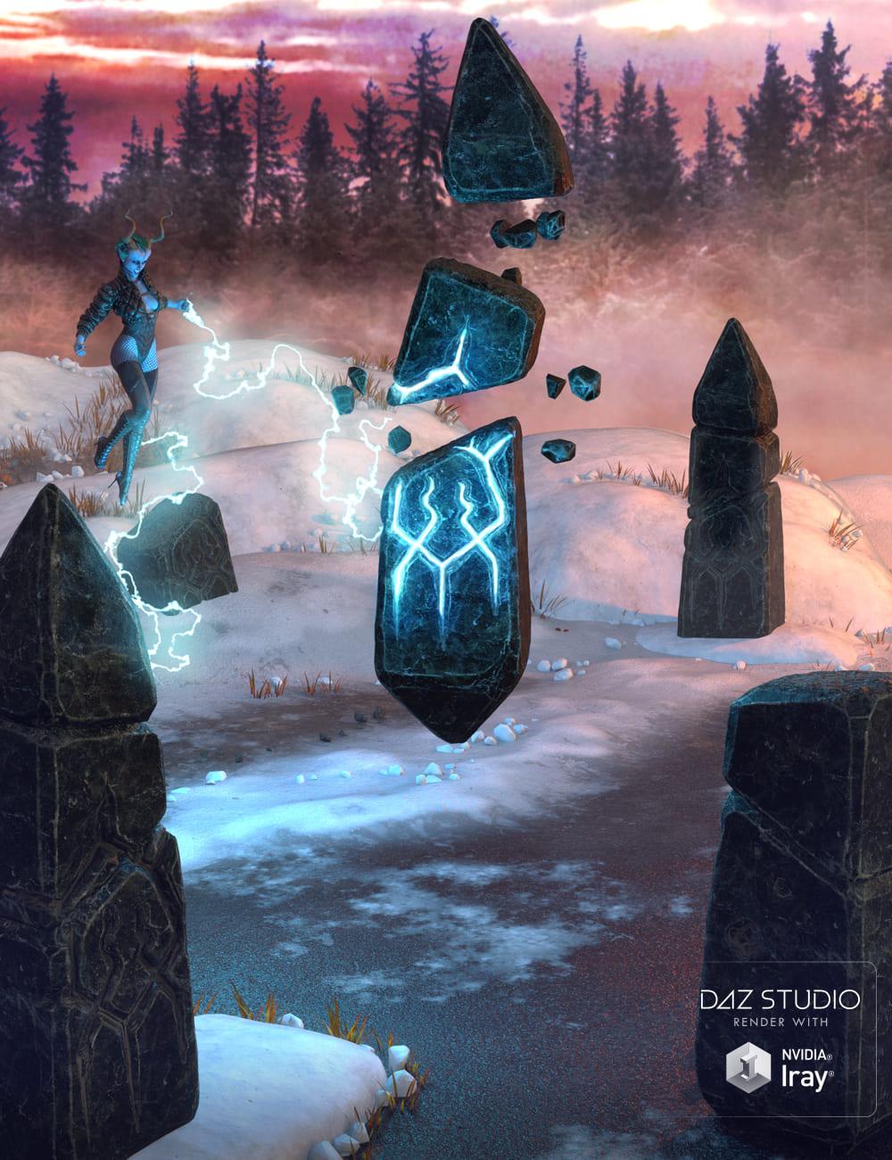 Muelsfell Mystical Obelisks_DAZ3D下载站