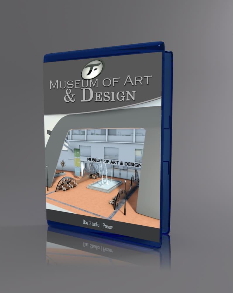 Museum of Art and Design_DAZ3D下载站