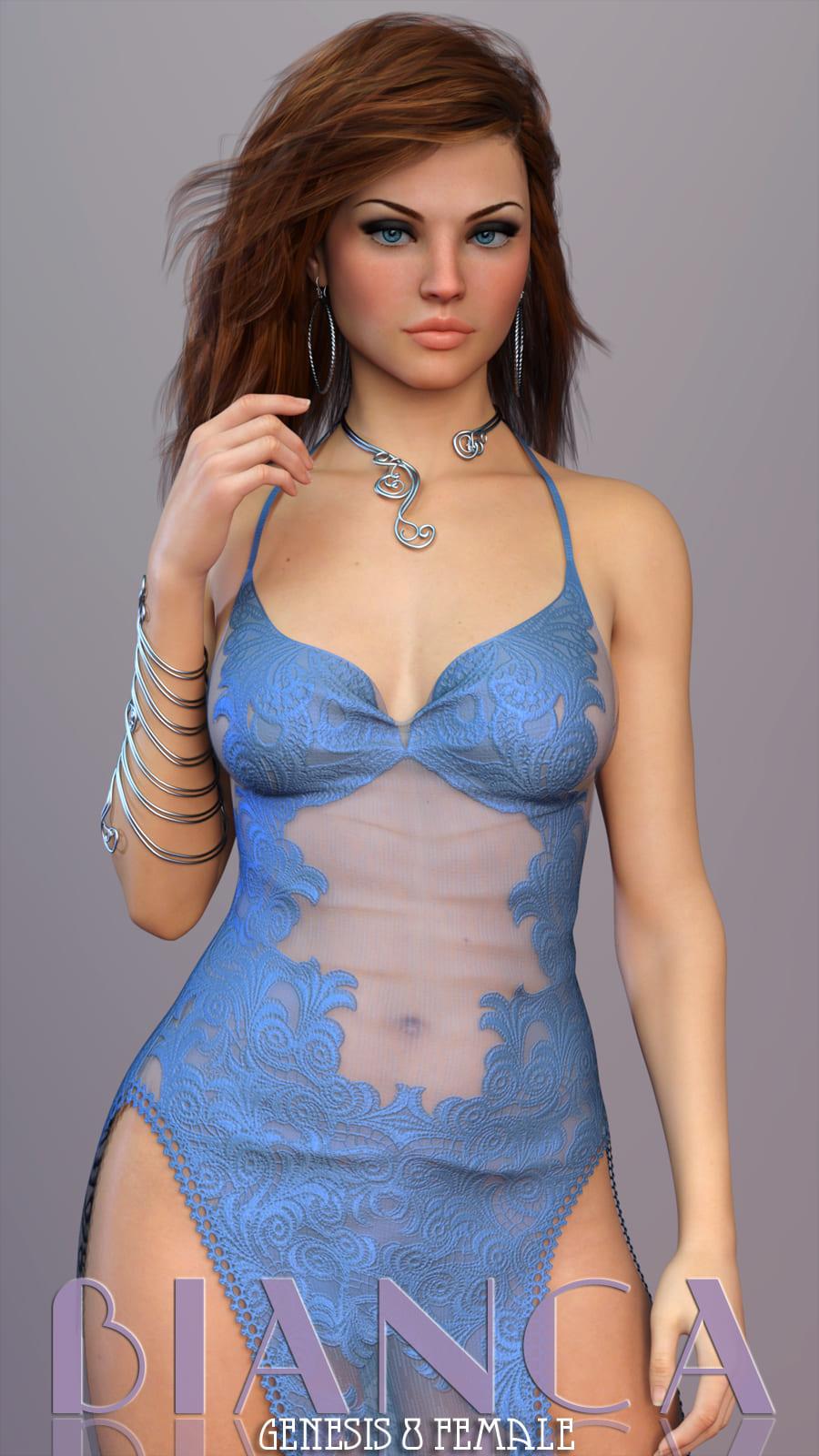 Bianca For Genesis 8 Female_DAZ3D下载站