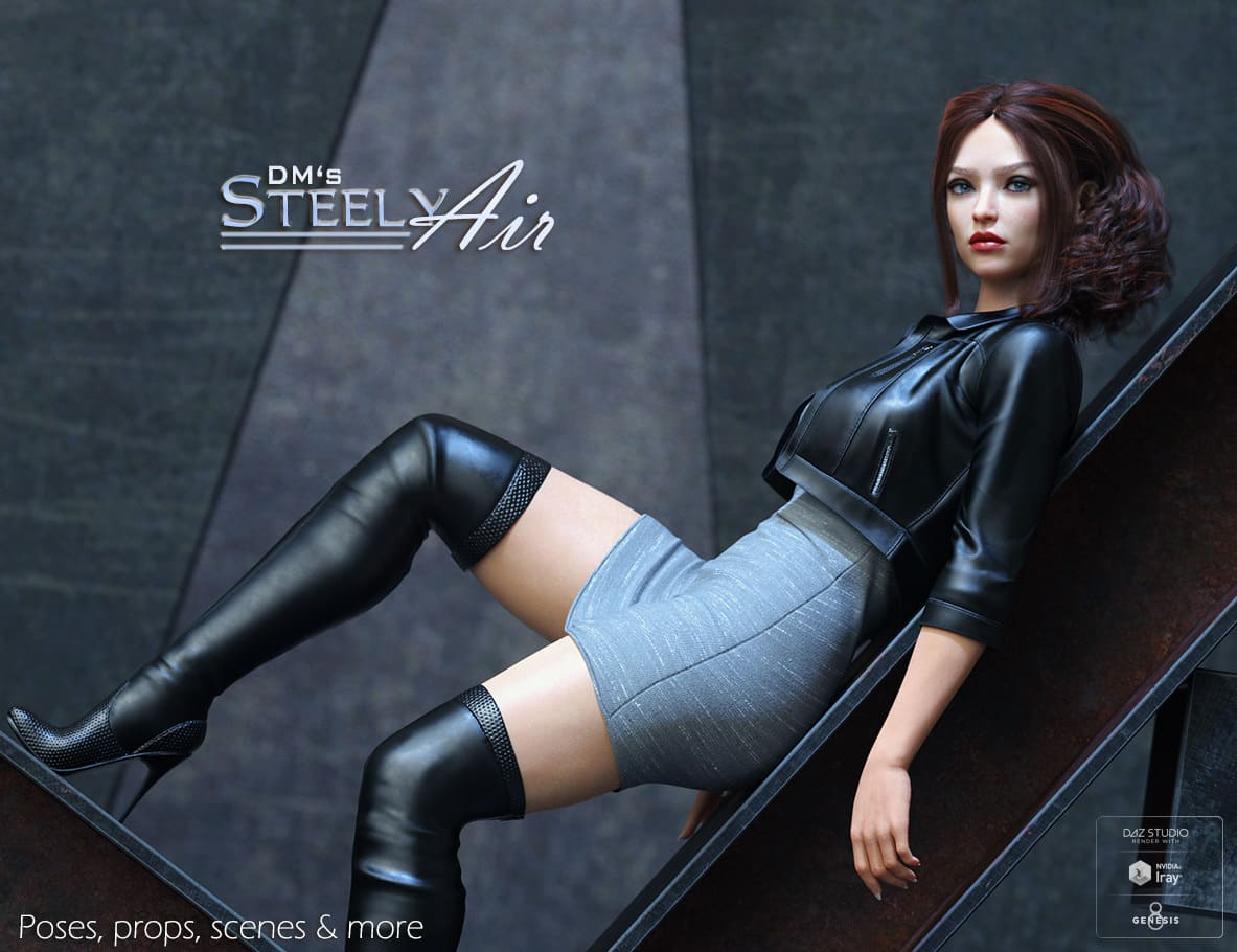 DMs Steely Air_DAZ3D下载站