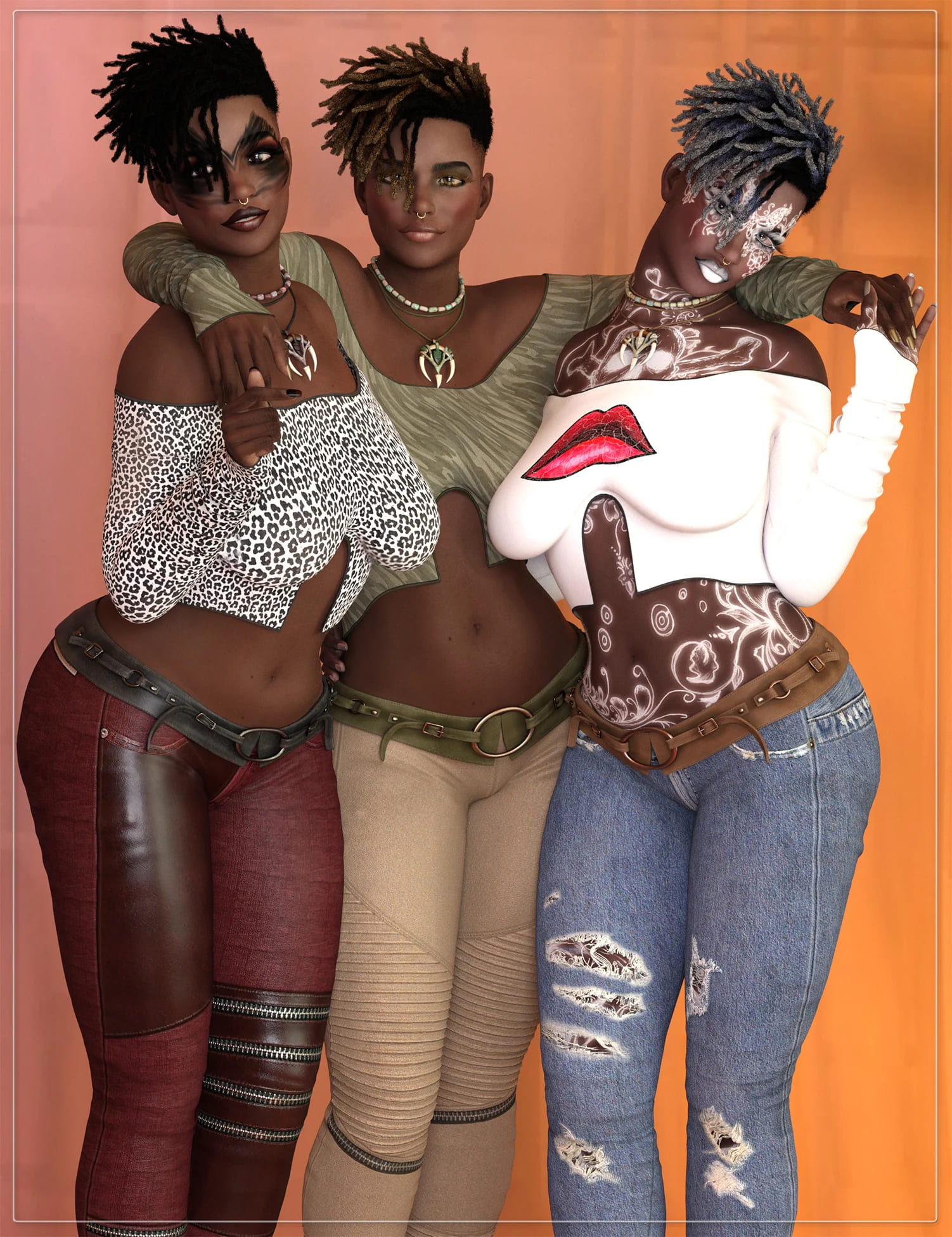 LIL-Shantrea for Genesis 8 Female_DAZ3D下载站