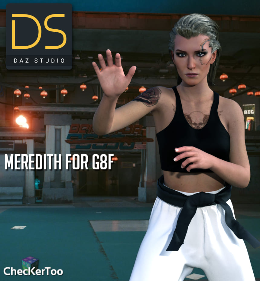 Meredith For G8F_DAZ3D下载站