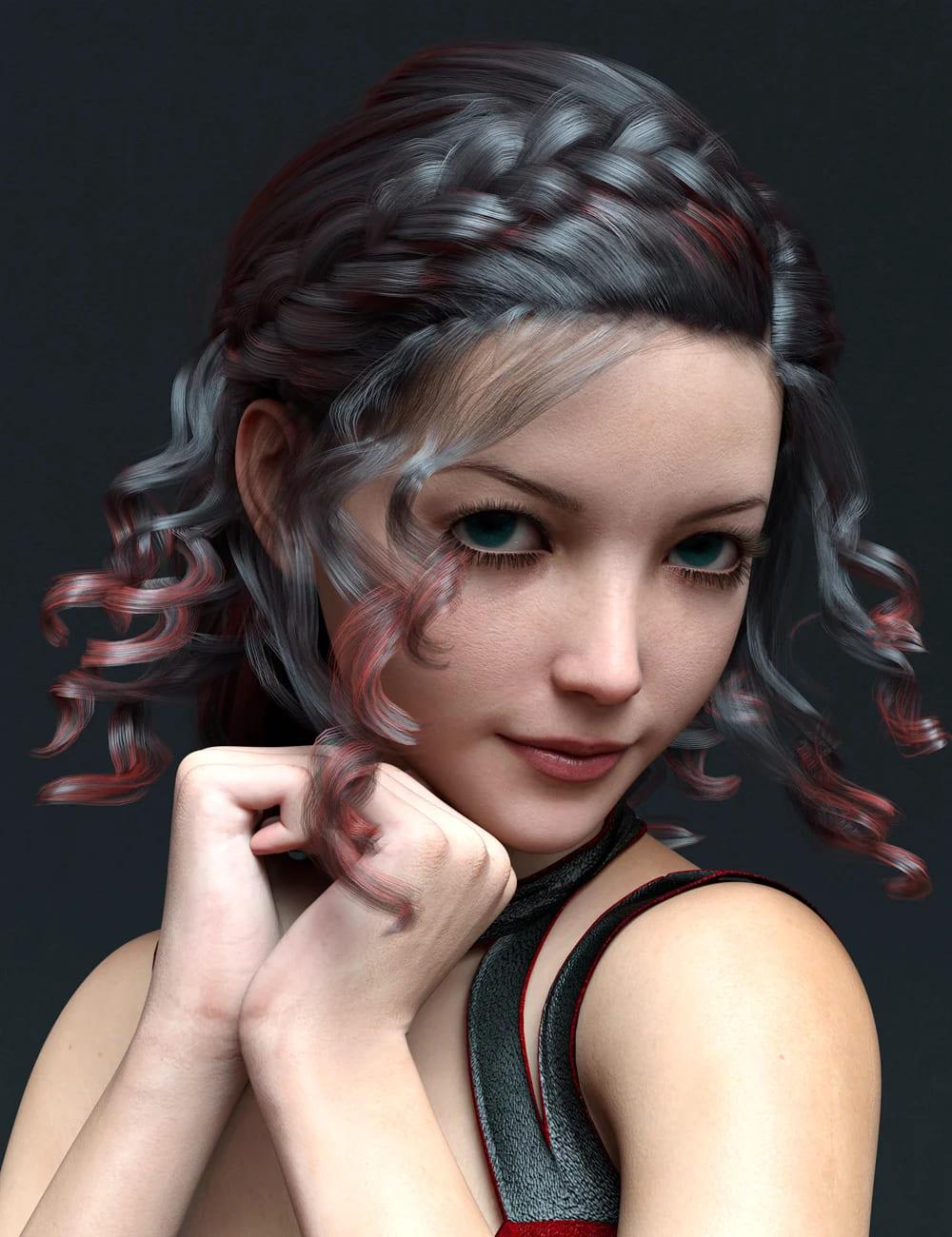 MR Rhoanita for Genesis 8.1 Female_DAZ3D下载站