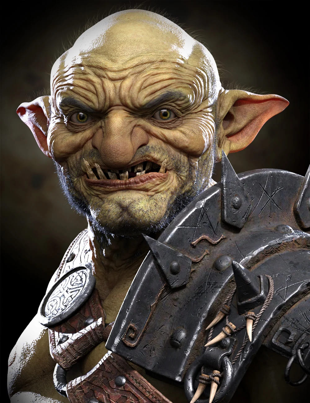 War Goblin HD for Genesis 8.1 Male_DAZ3D下载站