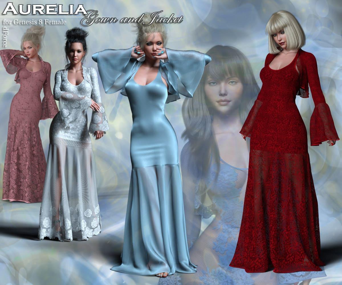 Aurelia for G8 Females_DAZ3D下载站