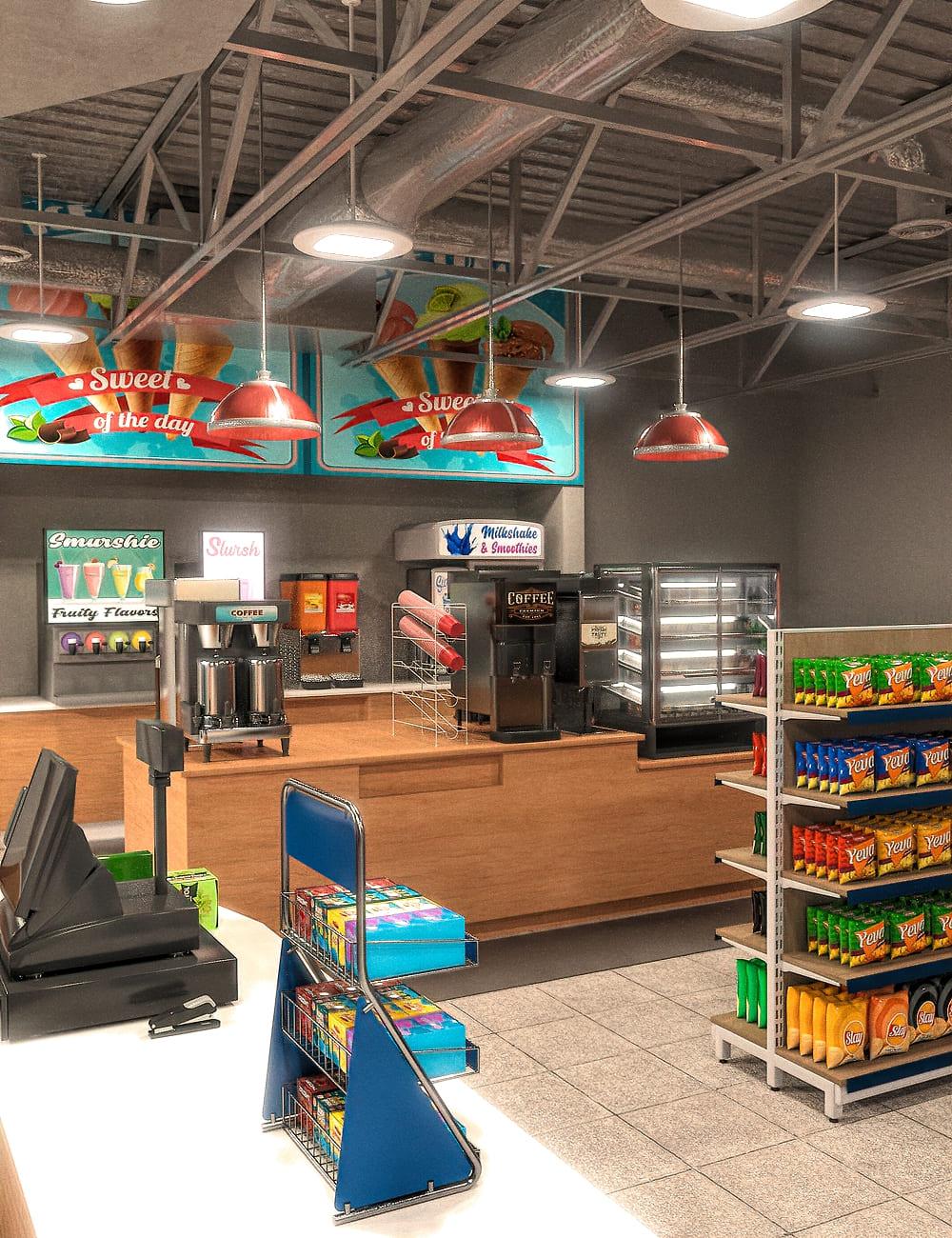 FG Convenience Store_DAZ3D下载站