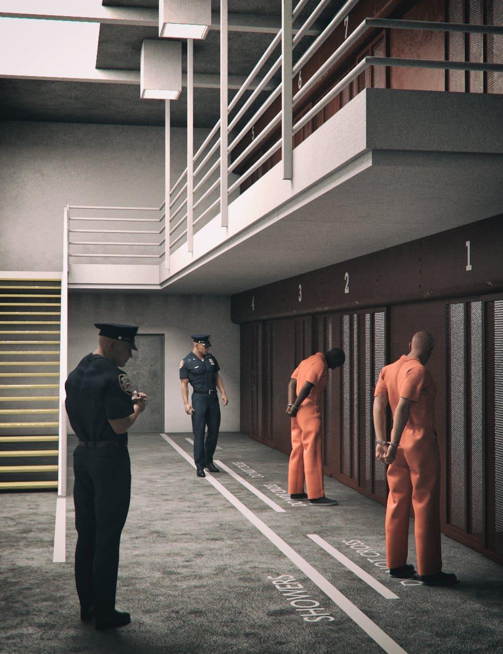 High Security Prison_DAZ3D下载站