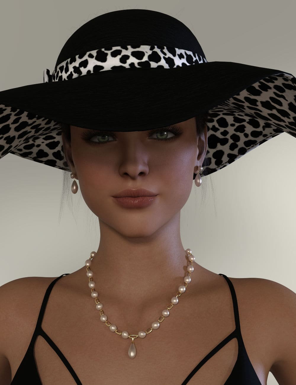 Pearls, Pearls, Pearls for Genesis 8 and 8.1 Females_DAZ3D下载站