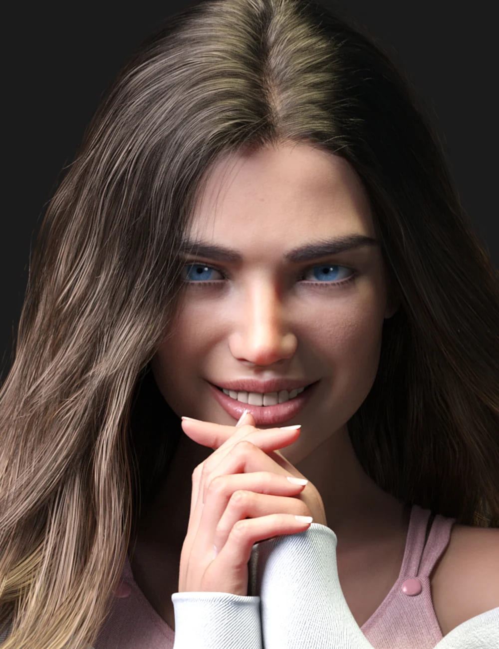 Bella HD for Genesis 8.1 Female_DAZ3D下载站