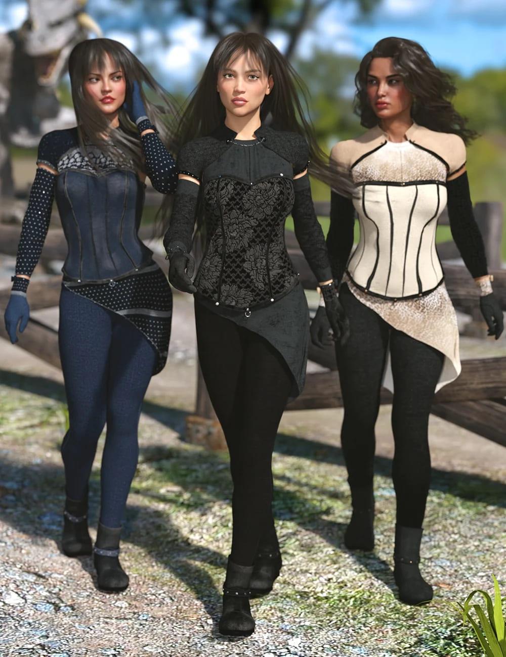 Blackwood Outfit Taylor Textures_DAZ3D下载站