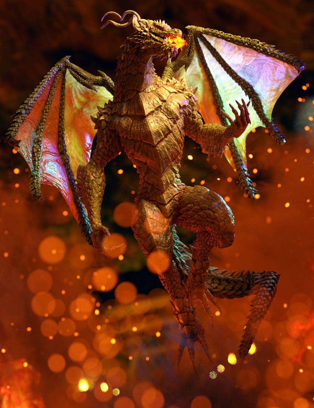Drago for Genesis 8 Male(s)_DAZ3D下载站