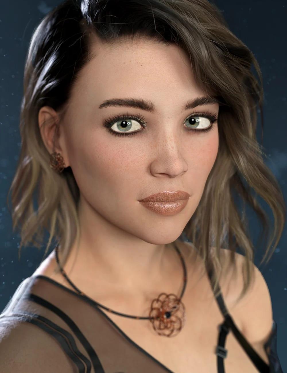 Kieran HD for Genesis 8 and 8.1 Female_DAZ3D下载站