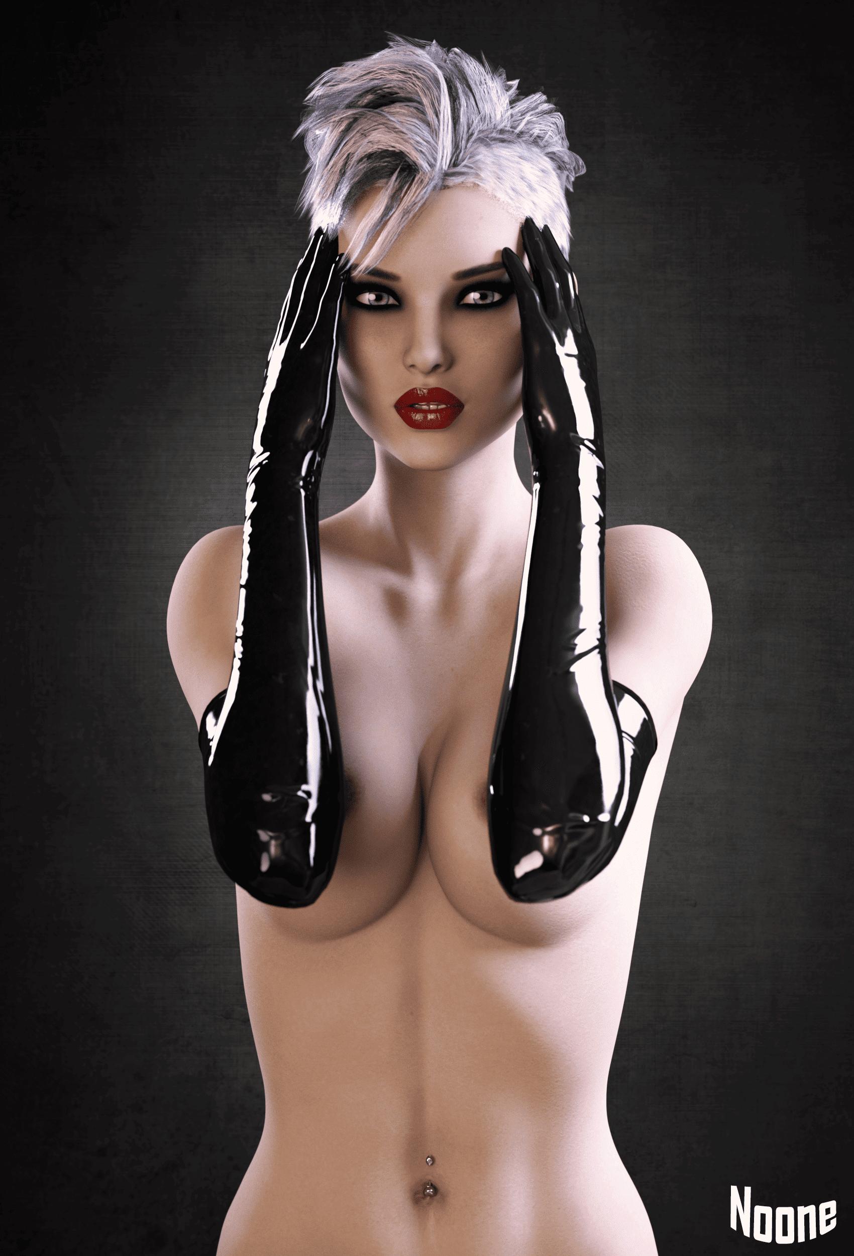 Latex Gloves_DAZ3D下载站