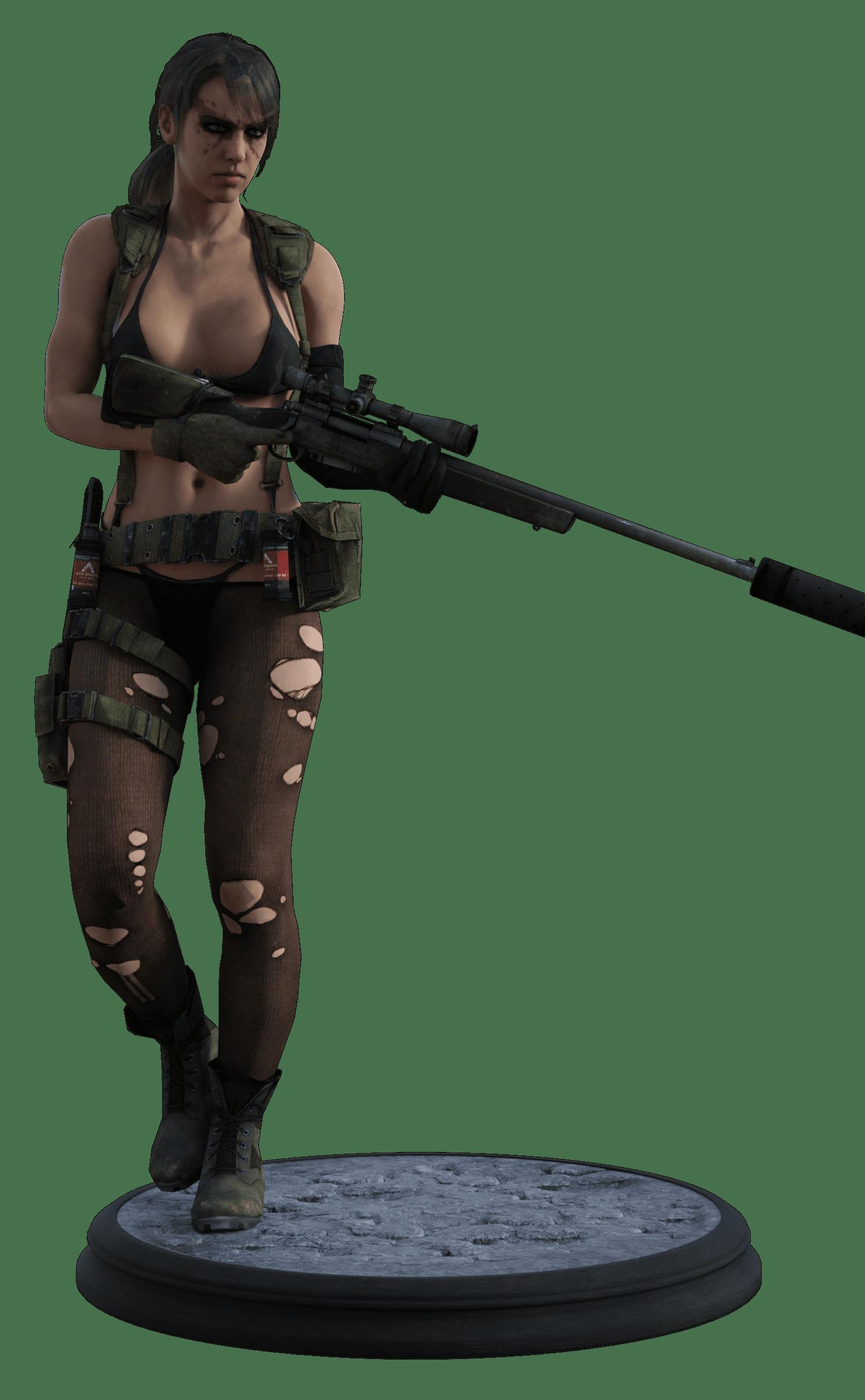 Metal Gear Solid V Quiet in Daz G8F_DAZ3D下载站