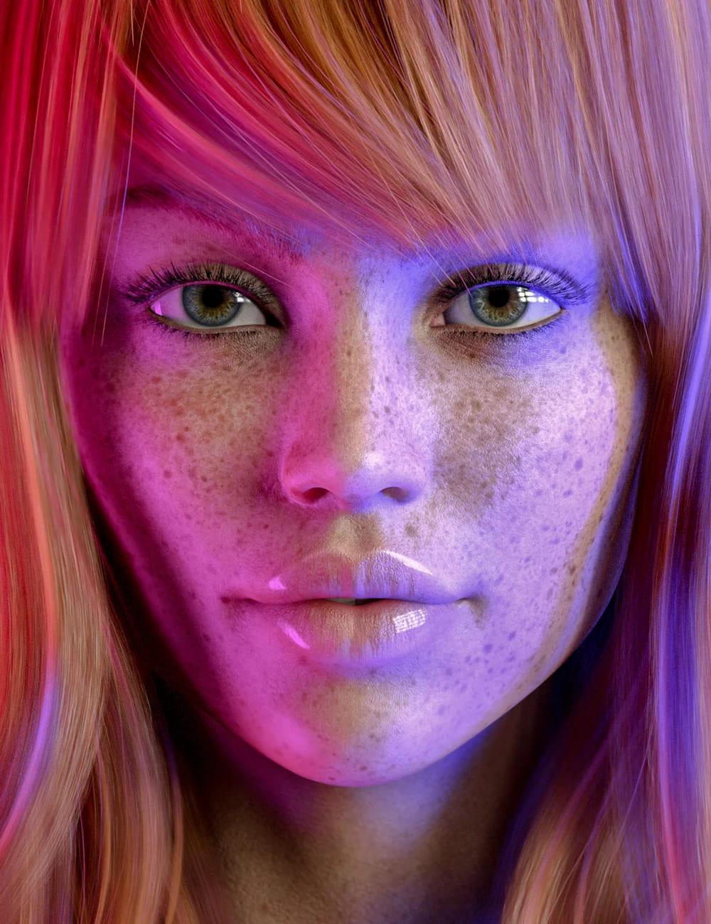 Sia HD for Genesis 8.1 Female_DAZ3D下载站