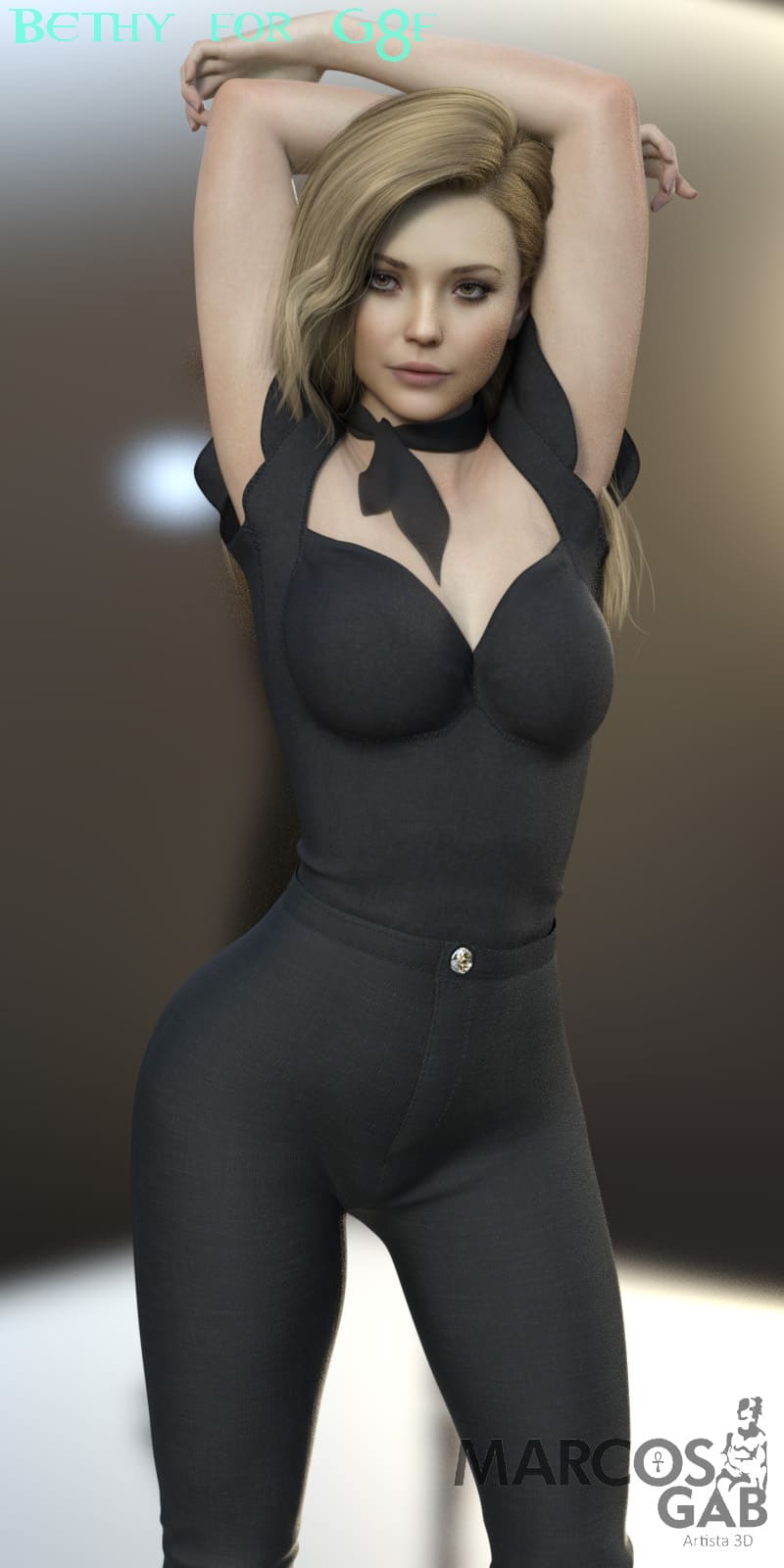 Bethy For Genesis 8 Female_DAZ3D下载站