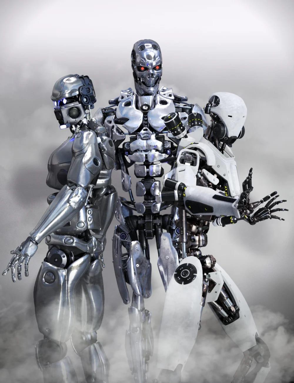 Cyborg Shaders_DAZ3D下载站
