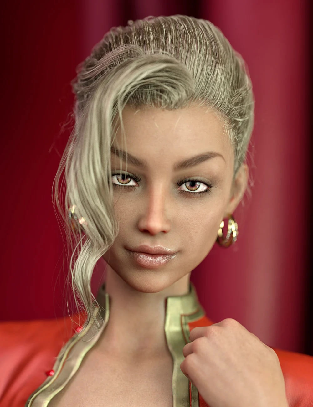 MR Luryana for Genesis 8 Female_DAZ3D下载站