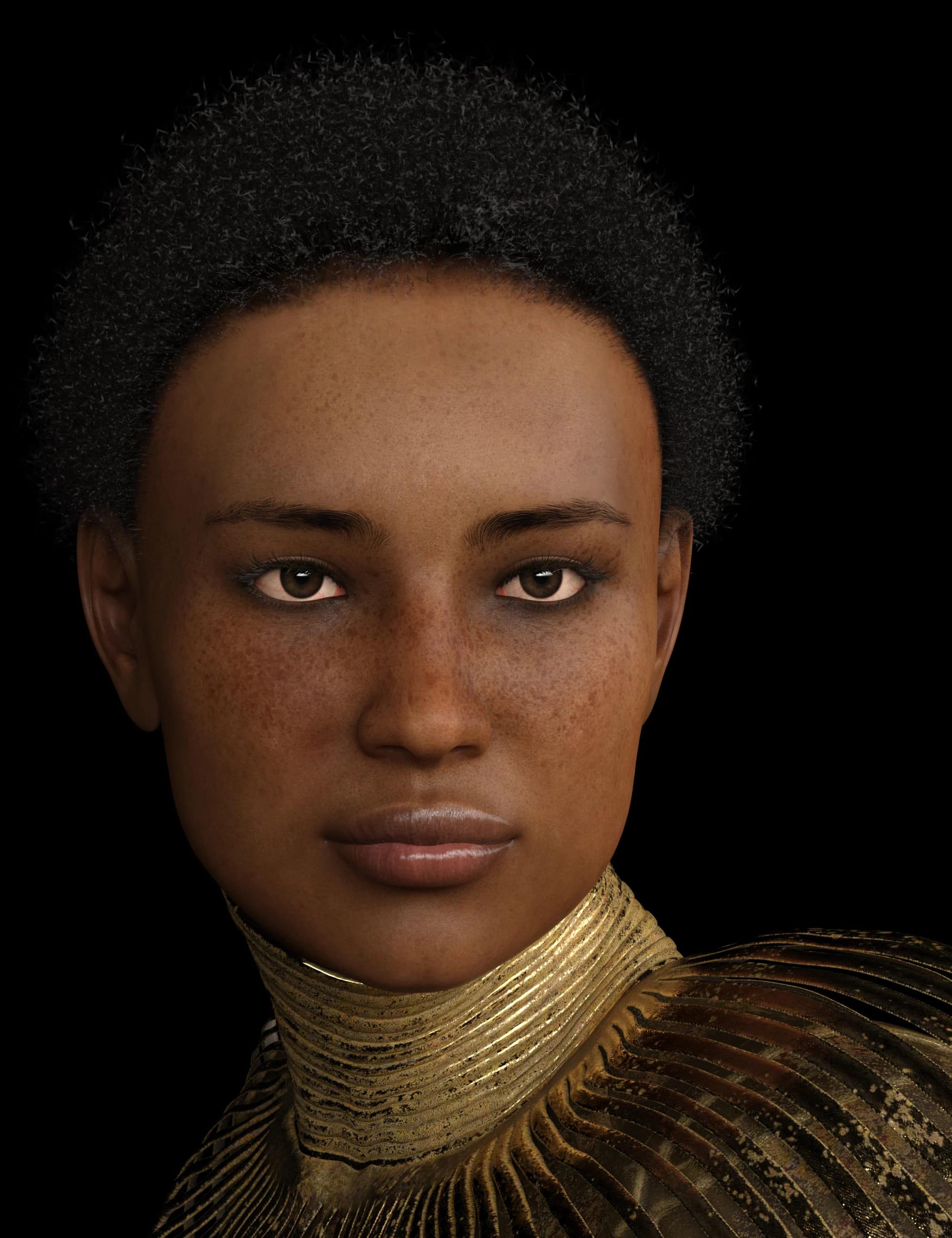 Phx Chantalle Hair for Genesis 8 Female(s)_DAZ3D下载站