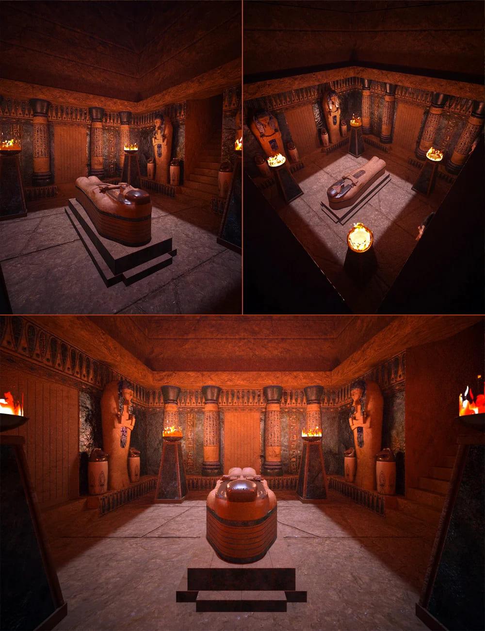 The Lapis Pyramid Tomb_DAZ3D下载站