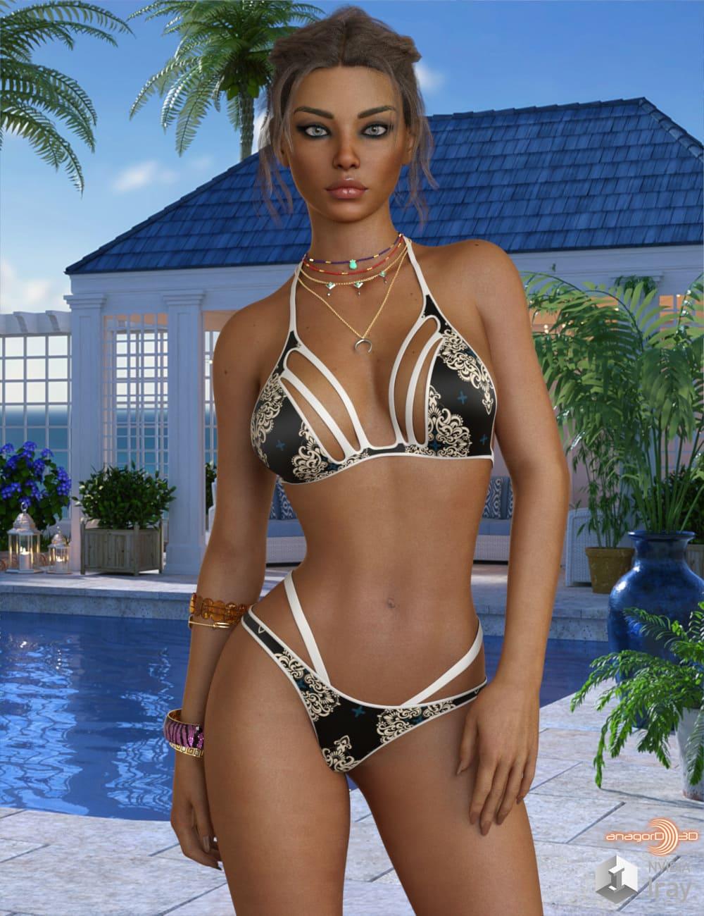 VERSUS – Candid Bikini for Genesis 8 Females_DAZ3D下载站
