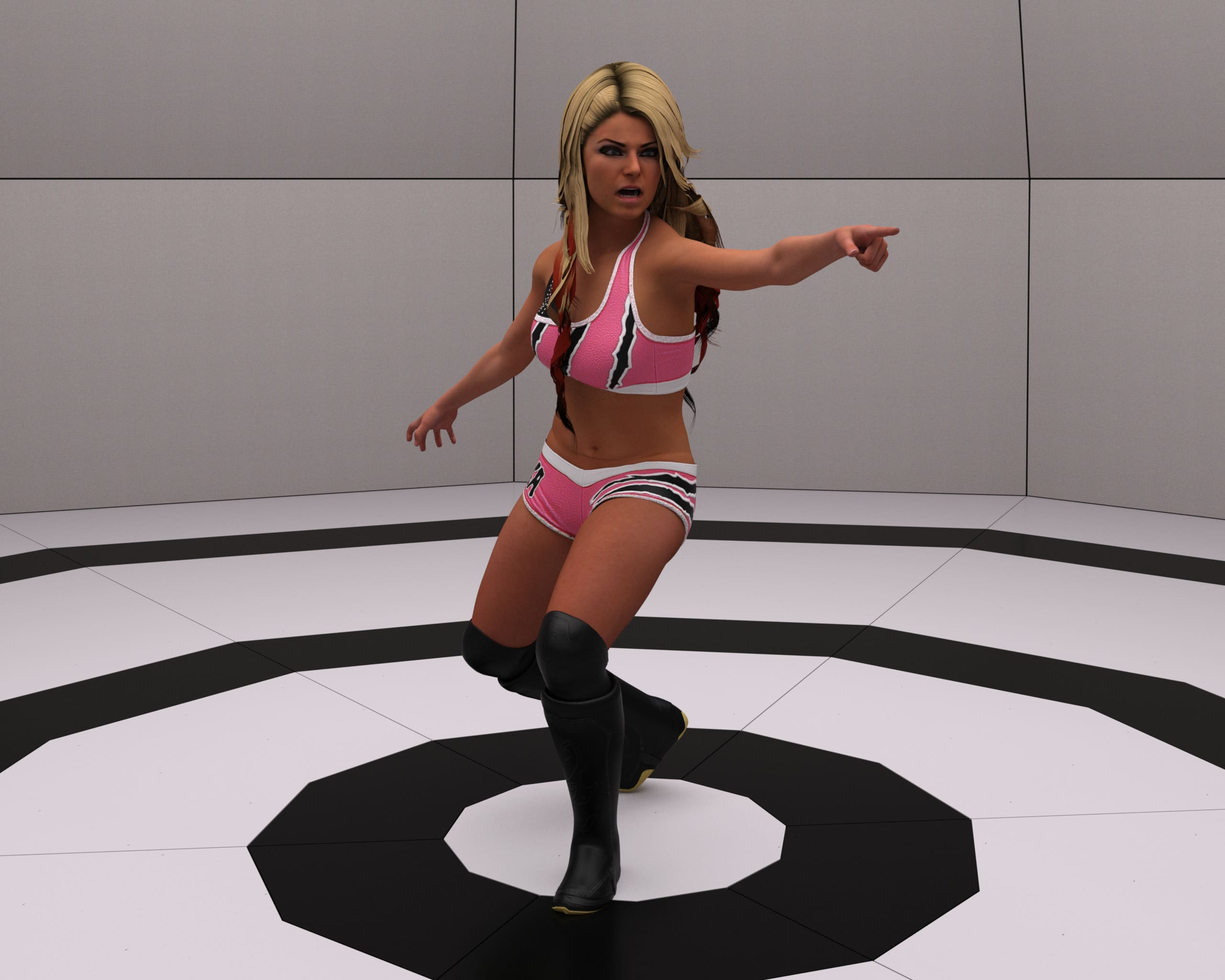 Alexa Bliss for G8F and G8.1F_DAZ3D下载站