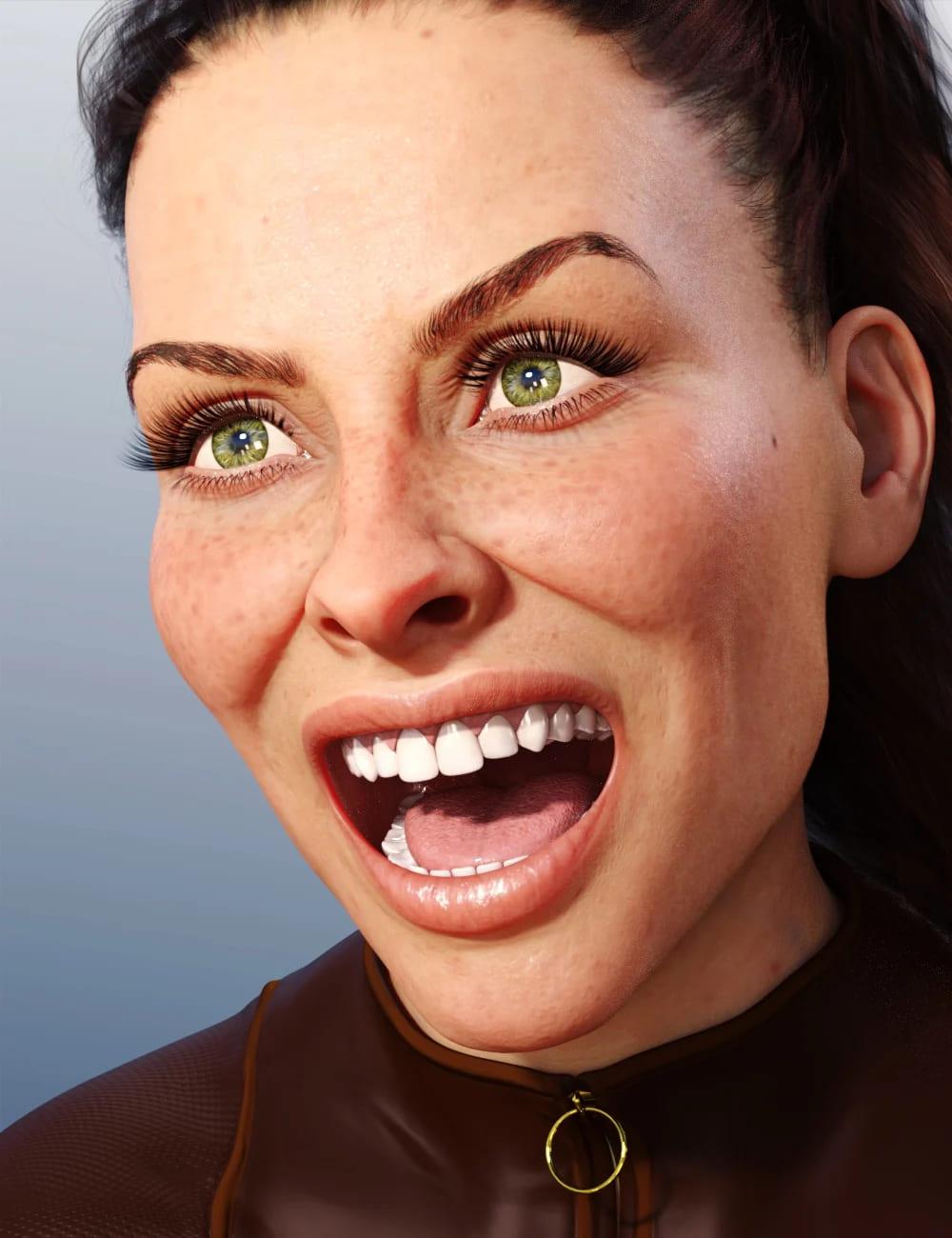 Alla Expressions for Genesis 8 Female_DAZ3D下载站