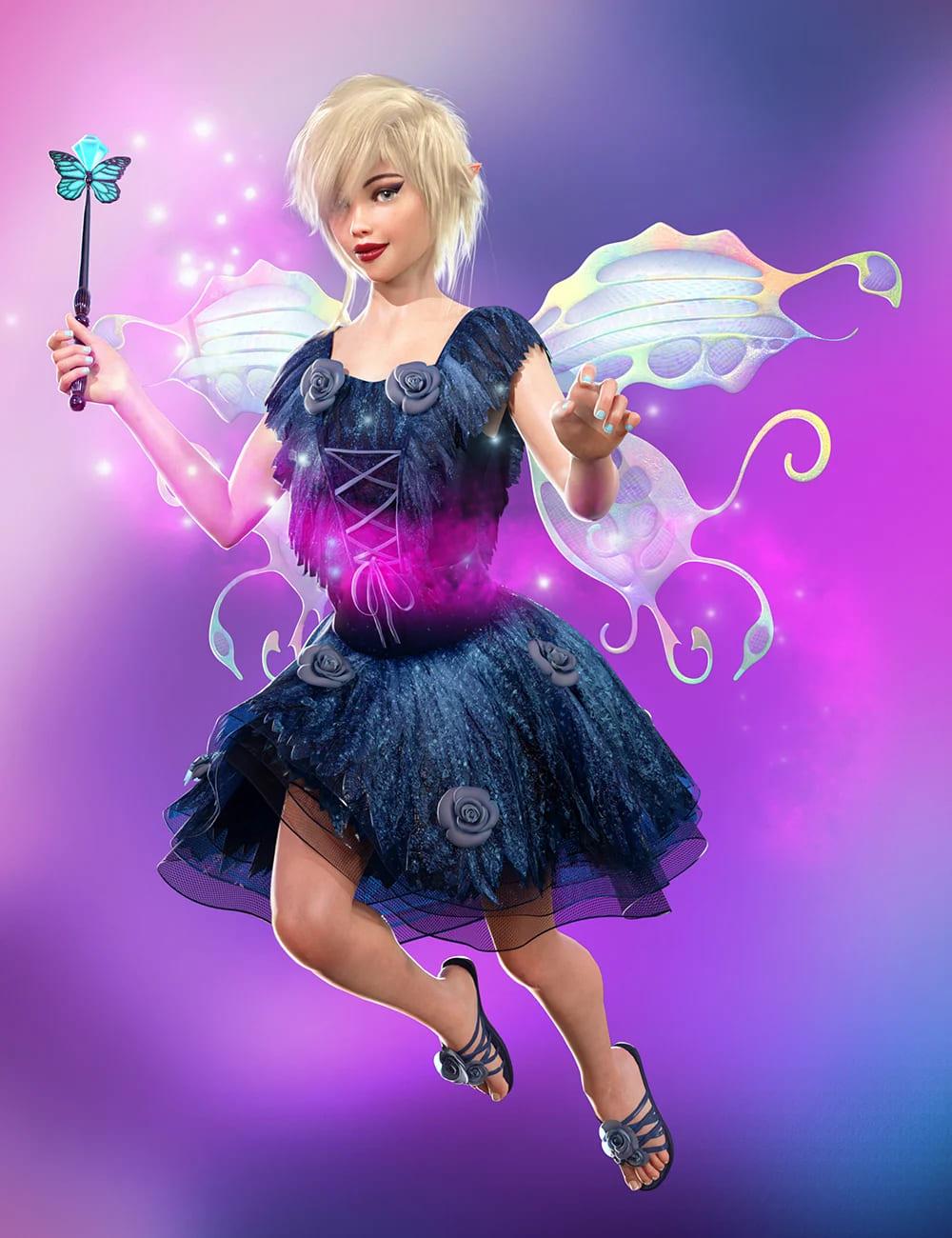 Fairy Animations for Genesis 8_DAZ3D下载站