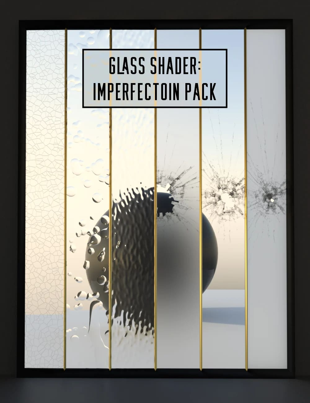 Glass Shader Imperfection Pack_DAZ3D下载站