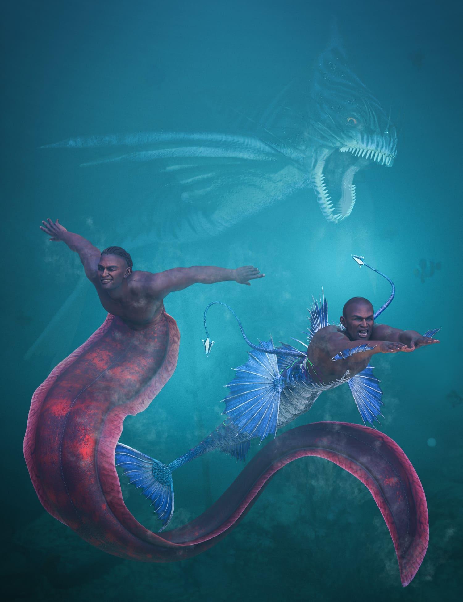 Zale 8.1 Deep Sea King Bundle_DAZ3D下载站