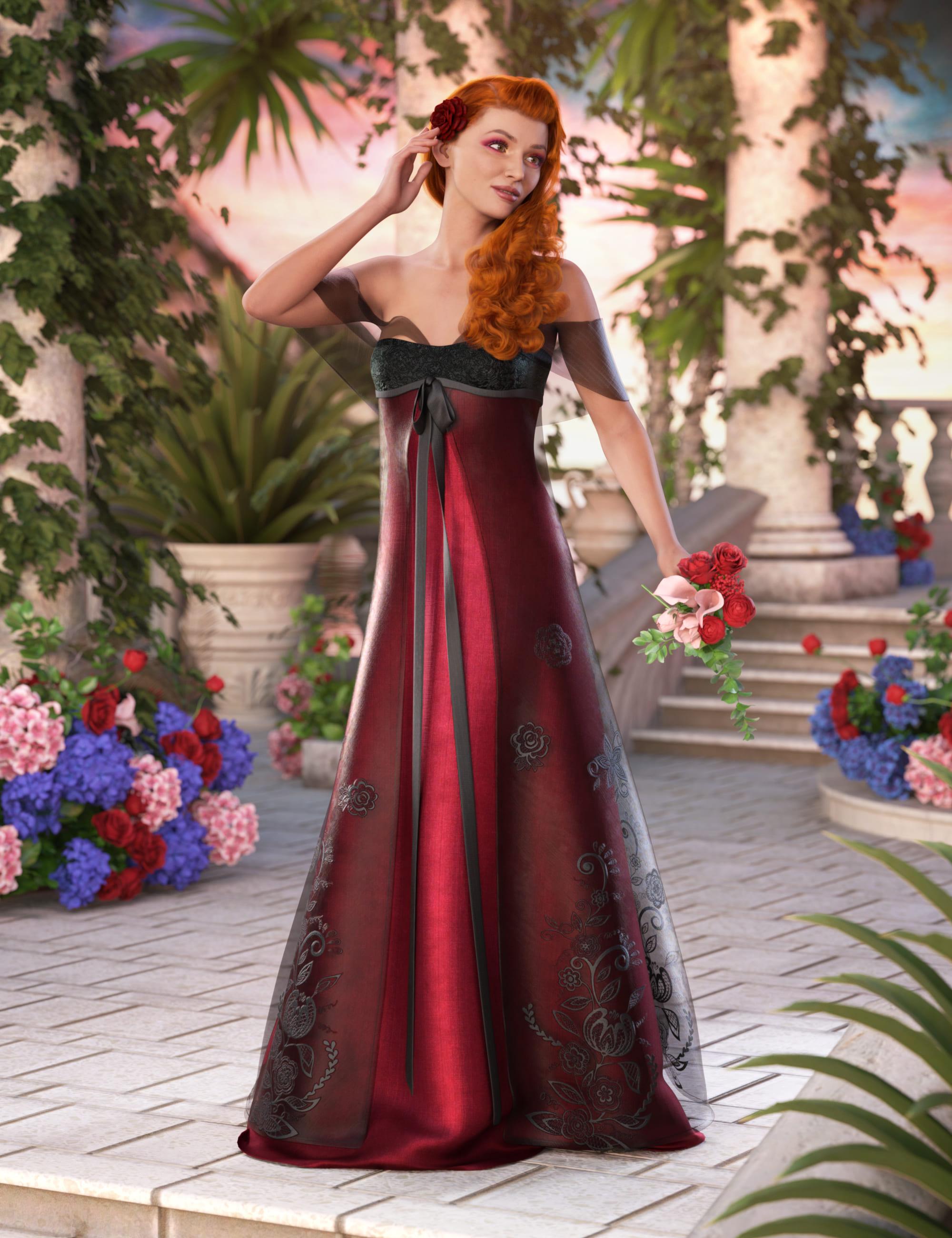 dForce Enchanted Splendor for Genesis 8 and 8.1 Females_DAZ3D下载站