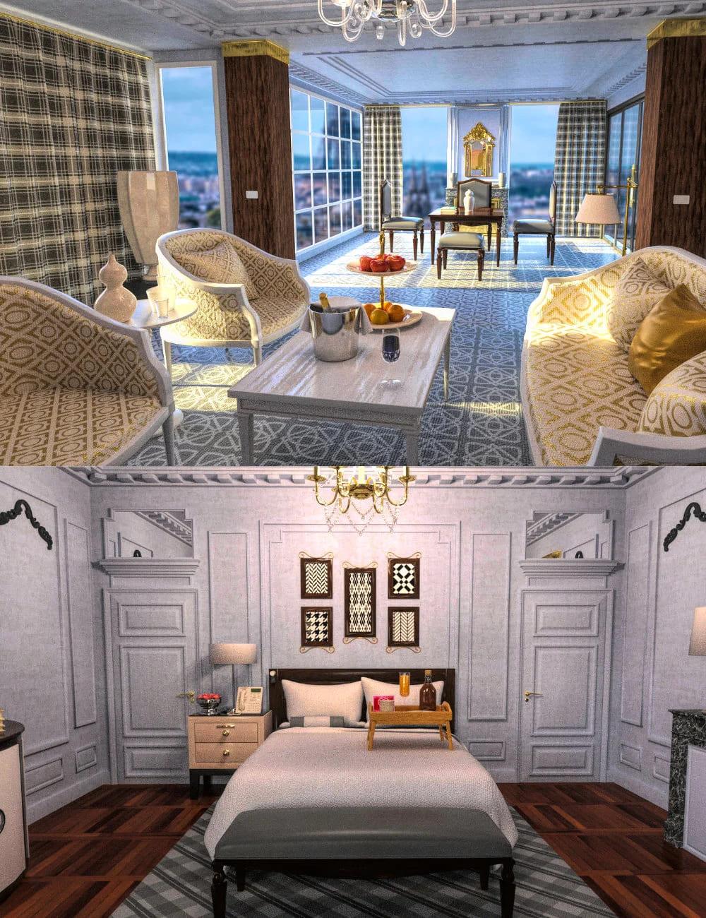 FG Parisian Hotel_DAZ3D下载站