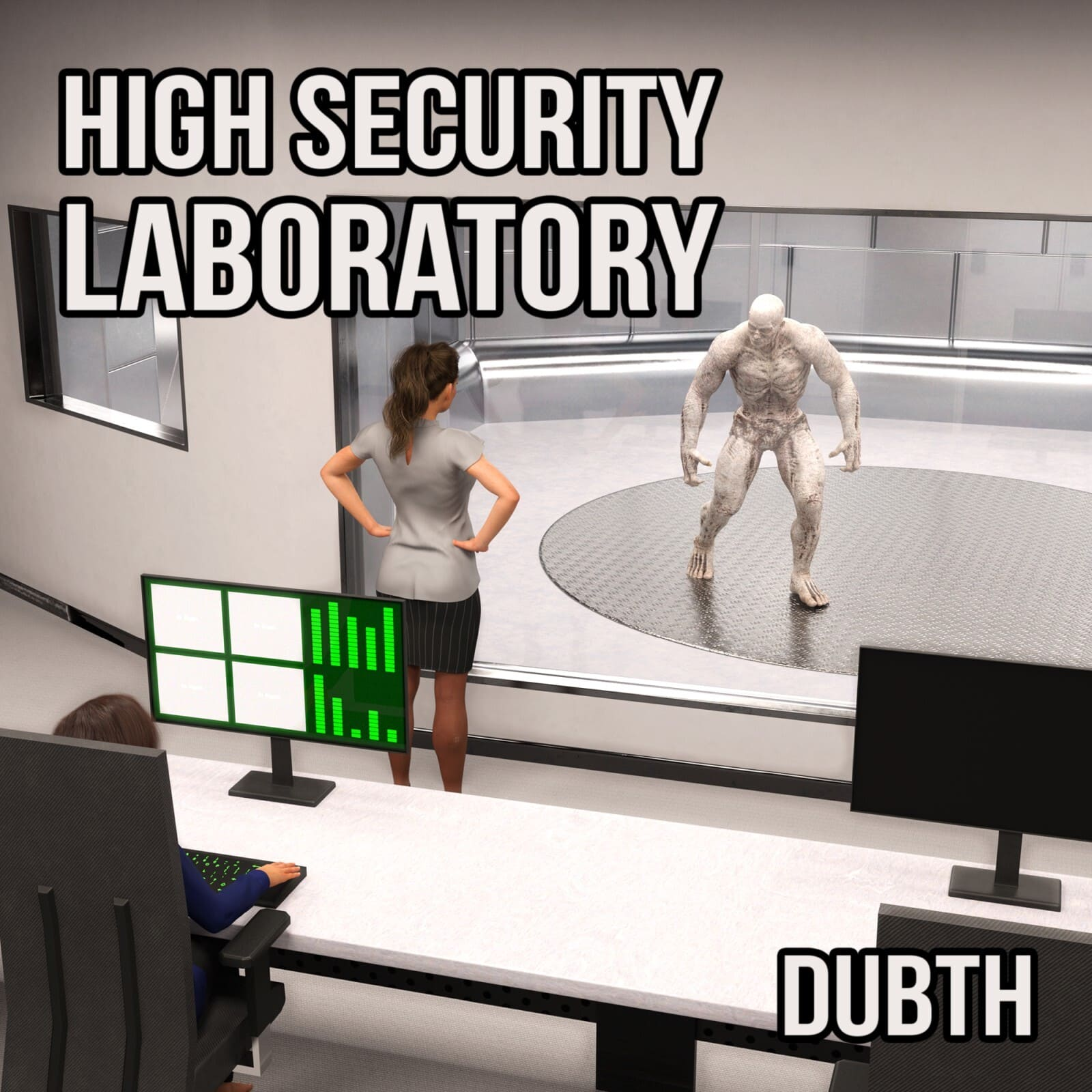 High Security Laboratory for Iray_DAZ3D下载站