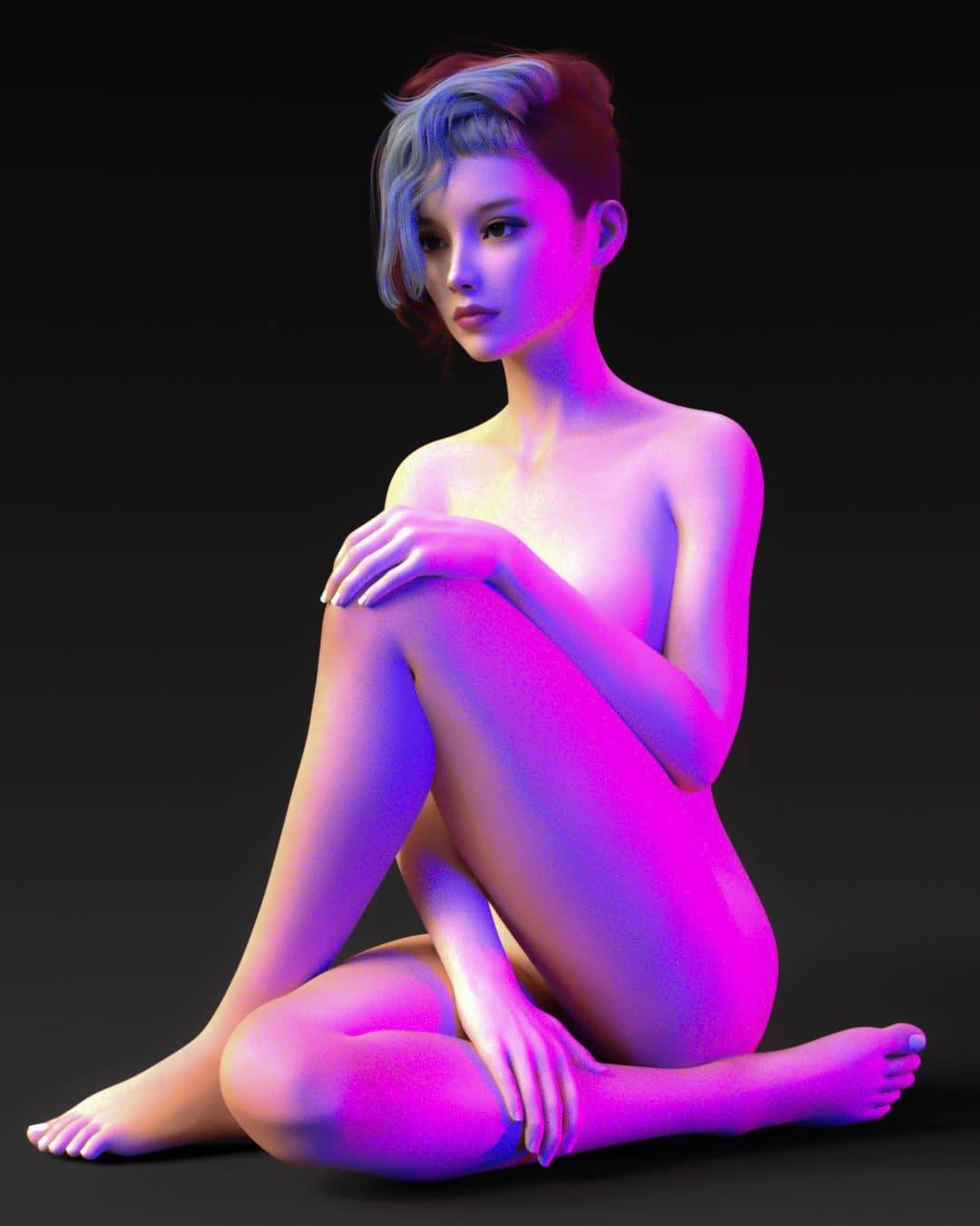 Mia For Genesis 8 Female_DAZ3D下载站