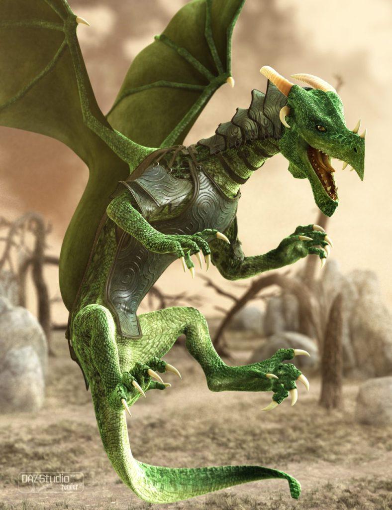 DAZ Dragon 3 Pro Bundle_DAZ3D下载站