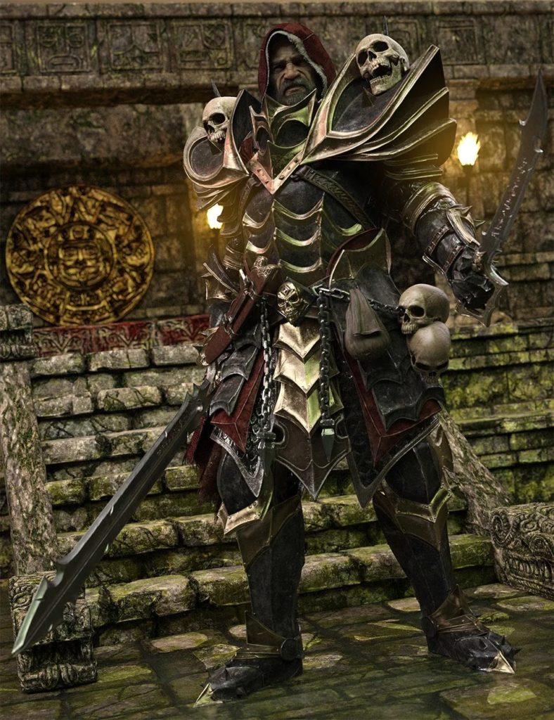Dark Guard HD Bundle_DAZ3D下载站