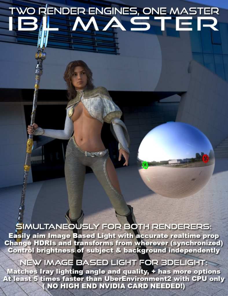 IBL Master for Daz Studio_DAZ3D下载站