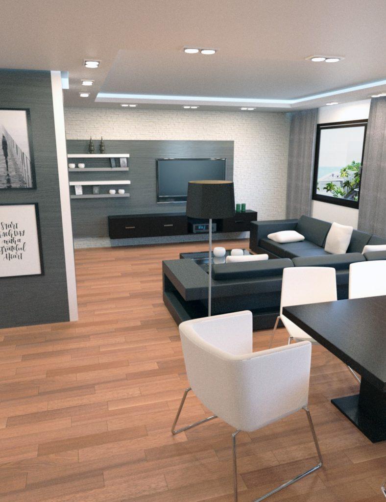 Modish Apartment_DAZ3D下载站