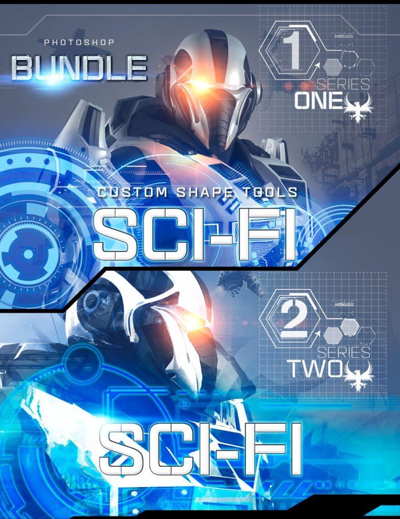 Ron's Sci-Fi Custom Shapes Bundle_DAZ3D下载站